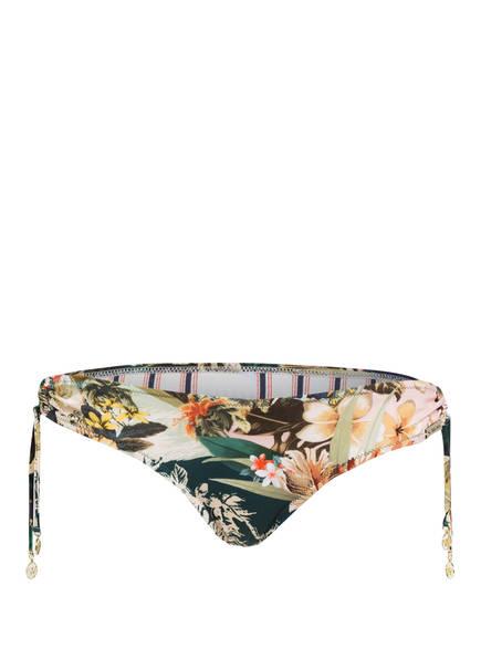 watercult Bikini-Hose HAWAII KITSCH, Farbe: BRAUN/ GRÜN/ ROSE (Bild 1)