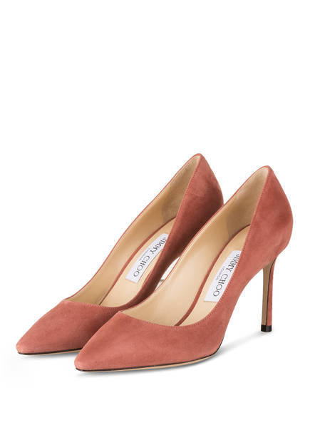 JIMMY CHOO Pumps ROMY 85, Farbe: DARK BLUSH (Bild 1)