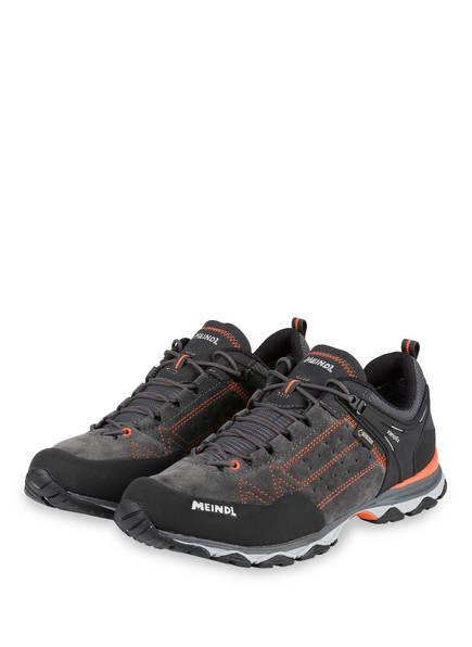 MEINDL Outdoor-Schuhe ONTARIO GTX, Farbe: GRAU/ SCHWARZ/ ORANGE (Bild 1)