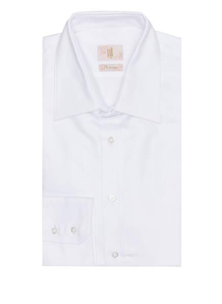 Q1 Manufaktur Hemd RONNY Extra Slim Fit, Farbe: WEISS (Bild 1)