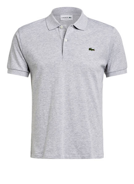 Lacoste Piqué-Poloshirt Classic Fit grau