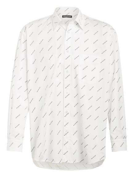 BALENCIAGA Hemd Comfort Fit, Farbe: WEISS/ SCHWARZ (Bild 1)