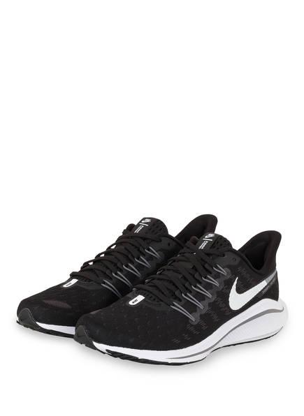 Nike Laufschuhe AIR ZOOM VOMERO 14, Farbe: SCHWARZ/ WEISS/ GRAU (Bild 1)