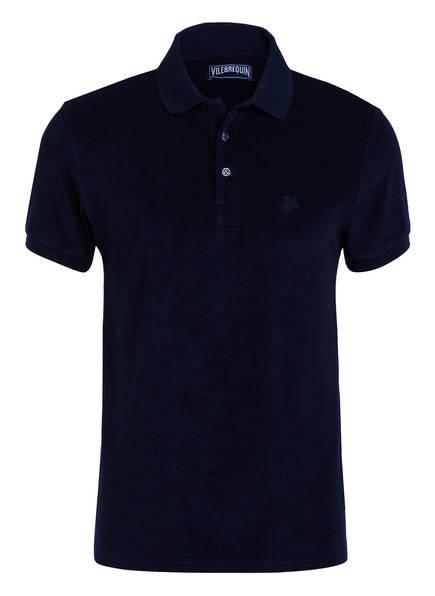 VILEBREQUIN Frottee-Poloshirt, Farbe: DUNKELBLAU (Bild 1)