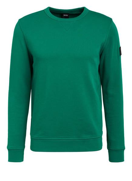 BOSS Sweatshirt WALKUP, Farbe: GRÜN (Bild 1)