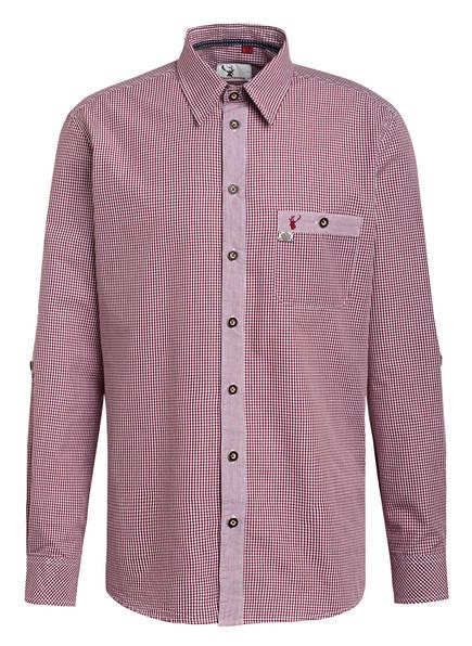 Spieth & Wensky Trachtenhemd, Farbe: DUNKELROT (Bild 1)