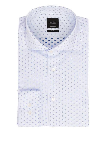 strellson Hemd SERENO Slim Fit, Farbe: HELLBLAU/ WEISS/ DUNKELBLAU (Bild 1)
