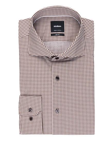 strellson Hemd SERENO Slim Fit, Farbe: ECRU/ CAMEL/ DUNKELBRAUN (Bild 1)