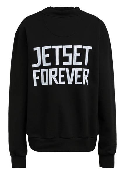 JET SET Sweatshirt, Farbe: SCHWARZ (Bild 1)