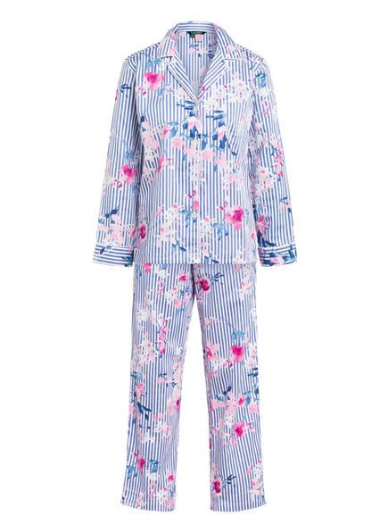 LAUREN RALPH LAUREN Schlafanzug , Farbe: WEISS/ BLAU/ ROSA (Bild 1)