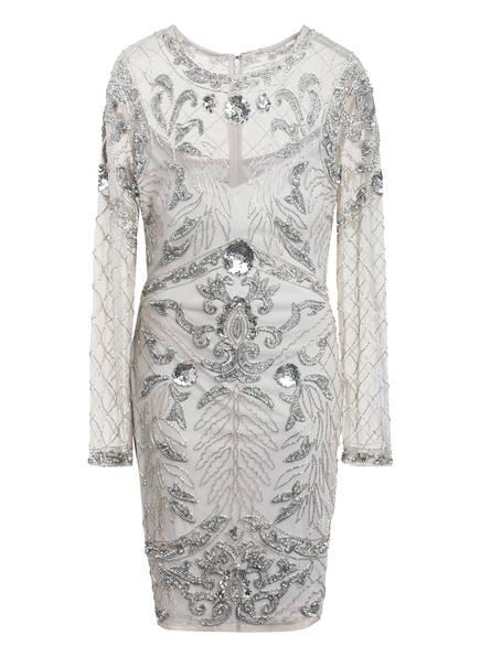 frock & frill Kleid mit Paillettenbesatz, Farbe: HELLGRAU (Bild 1)