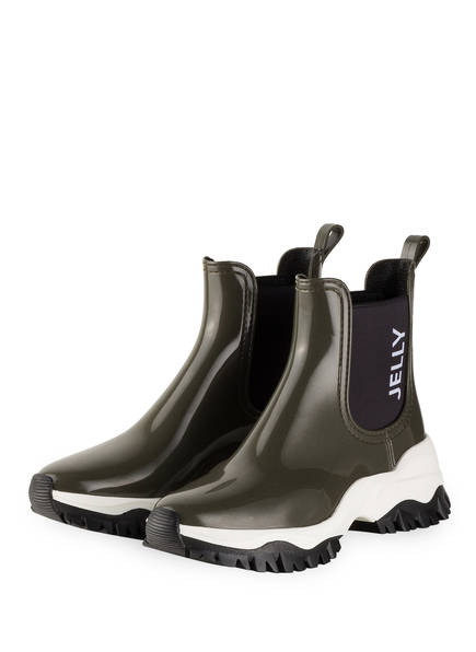 LEMON JELLY Chelsea-Boots JAYDEN mit Zitronenduft, Farbe: KHAKI  (Bild 1)