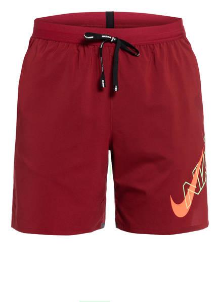 Nike Laufshorts AIR FLASH FLEX STRIDE, Farbe: DUNKELROT (Bild 1)