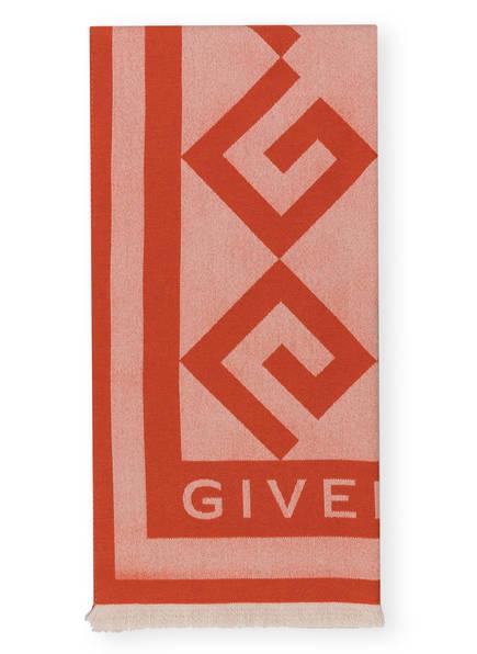 GIVENCHY Schal mit Cashmere, Farbe: HELLORANGE/ DUNKELORANGE (Bild 1)