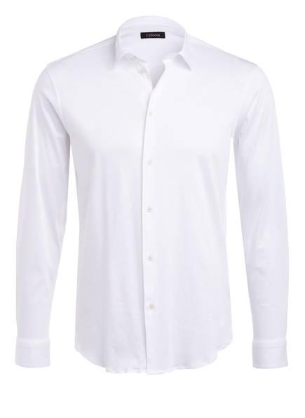 ZZegna Jerseyhemd Slim Fit , Farbe: WEISS (Bild 1)