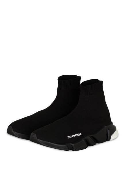 BALENCIAGA Hightop-Sneaker SPEED, Farbe: SCHWARZ/ WEISS (Bild 1)