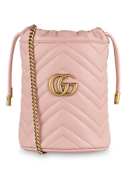 GUCCI Beuteltasche GG MARMONT MINI , Farbe: 5909 Perfect Pink (Bild 1)