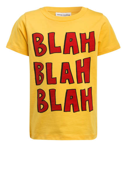 mini rodini T-Shirt , Farbe: DUNKELGELB (Bild 1)