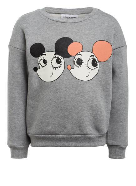 mini rodini Sweatshirt , Farbe: GRAU MELIERT (Bild 1)