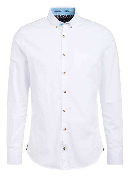 COLOURS & SONS Hemd PETER Modern Fit, Farbe: WEISS (Bild 1)