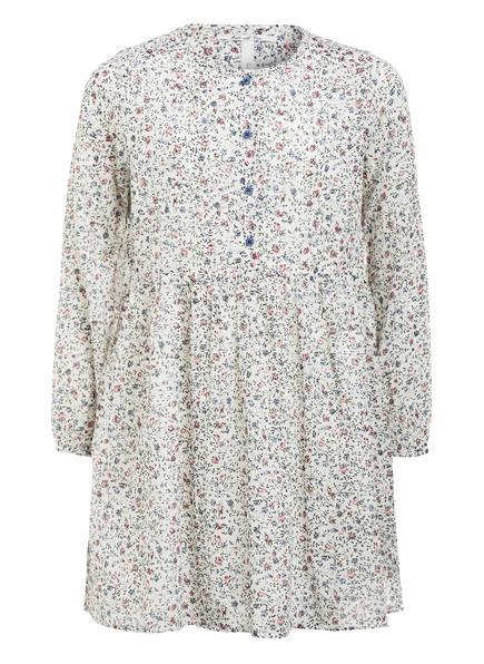 Pepe Jeans Kleid mit Glitzergarn , Farbe: WEISS/ BLAUGRAU/ DUNKELROT (Bild 1)