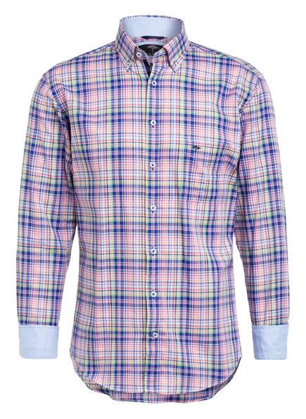 FYNCH-HATTON Oxfordhemd OXFORD STORY Regular Fit , Farbe: BLAU/ GRÜN/ WEISS (Bild 1)