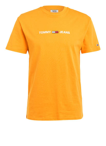 TOMMY JEANS T-Shirt, Farbe: DUNKELGELB (Bild 1)