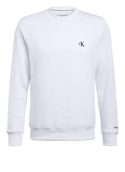 Calvin Klein Jeans Sweatshirt, Farbe: WEISS (Bild 1)