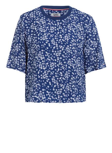 TOMMY JEANS Blusenshirt, Farbe: DUNKELBLAU/ WEISS (Bild 1)