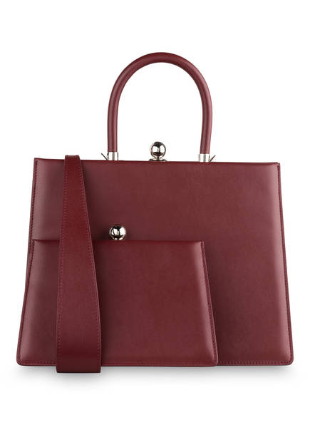 RATIO ET MOTUS Handtasche TWIN FRAME, Farbe: DUNKELROT (Bild 1)
