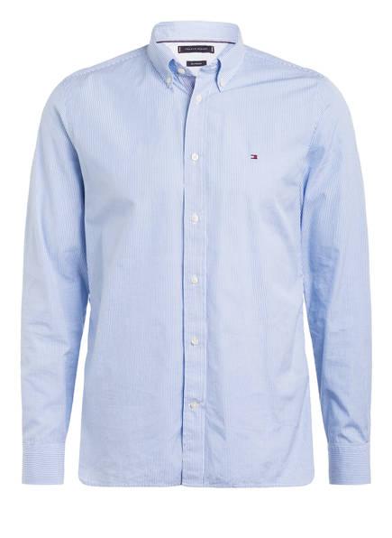 TOMMY HILFIGER Hemd Regular Fit, Farbe: HELLBLAU/ WEISS GESTREIFT (Bild 1)