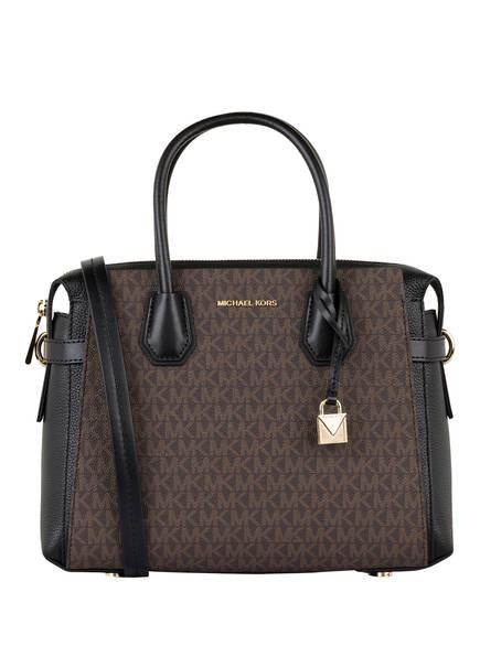MICHAEL KORS Handtasche MERCER, Farbe: BRAUN/ SCHWARZ (Bild 1)