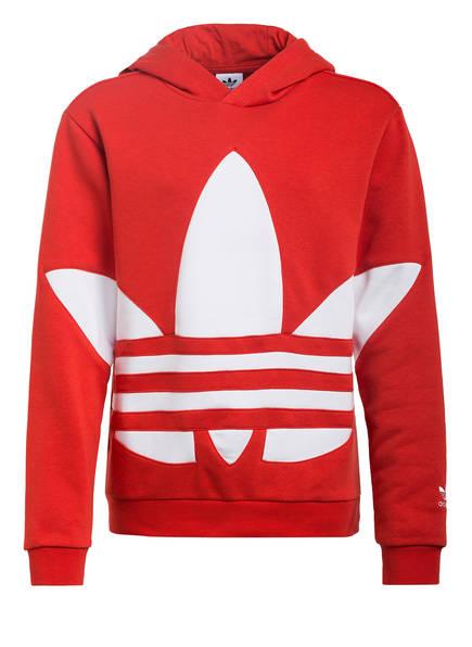 adidas Originals Hoodie BIG TREFOIL, Farbe: ROT/ WEISS (Bild 1)