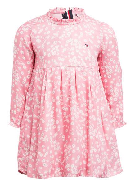 TOMMY HILFIGER Kleid , Farbe: ROSA/ WEISS (Bild 1)