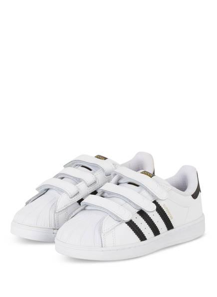 adidas Originals Sneaker SUPERSTAR CF , Farbe: WEISS/ SCHWARZ (Bild 1)