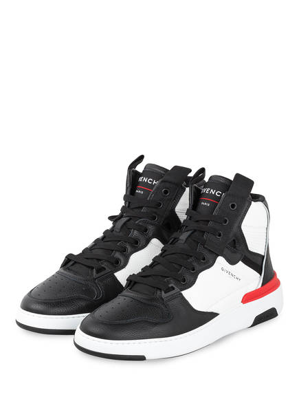 GIVENCHY Hightop-Sneaker WING, Farbe: SCHWARZ/ WEISS/ ROT (Bild 1)