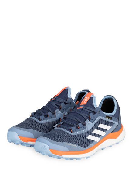 adidas Laufschuhe TERREX AGRAVIC FLOW GTX, Farbe: BLAU/ ORANGE (Bild 1)
