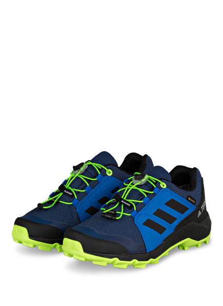 adidas Outdoor-Schuhe TERREX GTX K , Farbe: BLAU/ SCHWARZ/ NEONGRÜN (Bild 1)