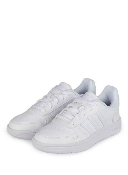 adidas Sneaker HOOPS 2.0, Farbe: WEISS (Bild 1)