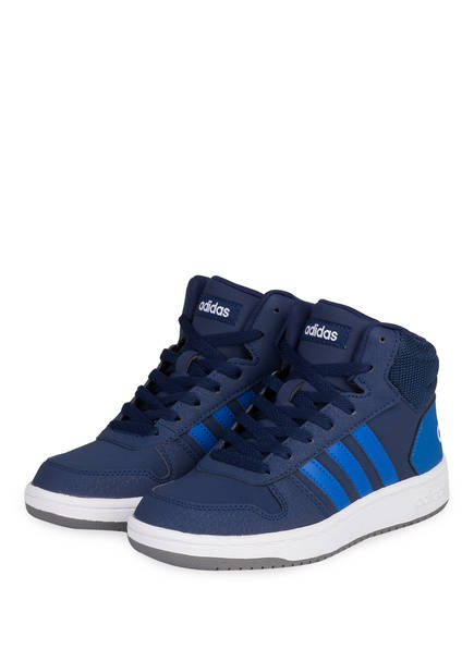 adidas Sneaker HOOPS MID 2.0, Farbe: DUNKELBLAU (Bild 1)