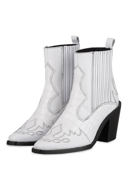 KURT GEIGER Cowboy Boots, Farbe: WEISS (Bild 1)
