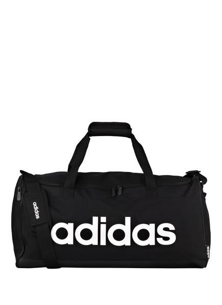 adidas Sporttasche LINEAR LOGO M, Farbe: SCHWARZ/ WEISS (Bild 1)