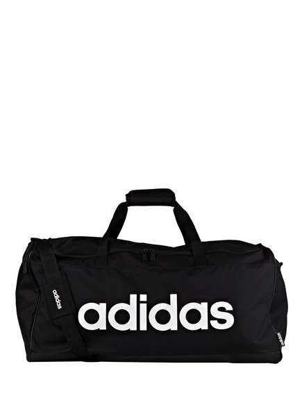 adidas Sporttasche LINEAR LOGO L, Farbe: SCHWARZ/ WEISS (Bild 1)