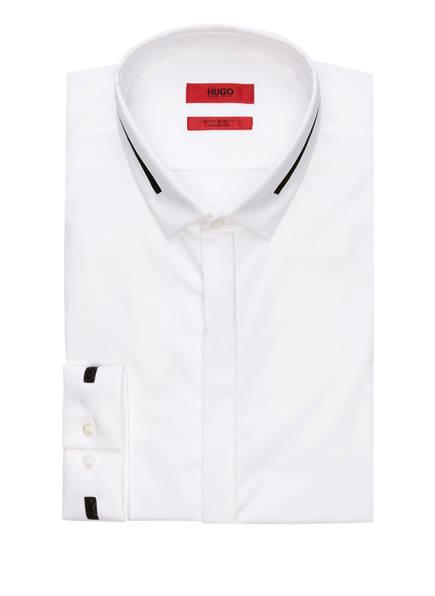 HUGO Smoking-Hemd ELOY Extra Slim Fit, Farbe: WEISS (Bild 1)