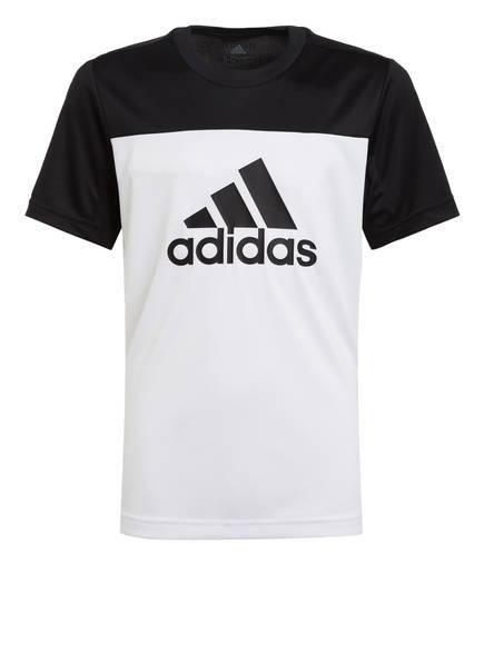 adidas T-Shirt EQUIPMENT, Farbe: WEISS/ SCHWARZ (Bild 1)