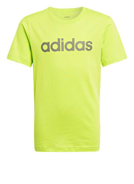 adidas T-Shirt, Farbe: HELLGRÜN (Bild 1)