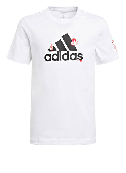 adidas T-Shirt, Farbe: WEISS (Bild 1)