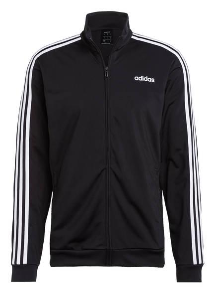 adidas Trainingsjacke ESSENTIALS, Farbe: SCHWARZ/ WEISS (Bild 1)