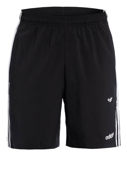 adidas Shorts , Farbe: SCHWARZ/ WEISS (Bild 1)