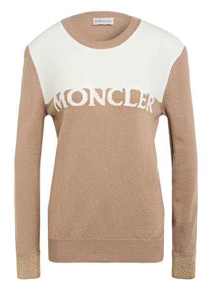 MONCLER Pullover mit Cashmere, Farbe: CAMEL (Bild 1)